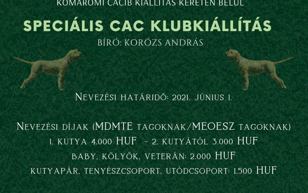 Special CAC Kiállítás Komáromban